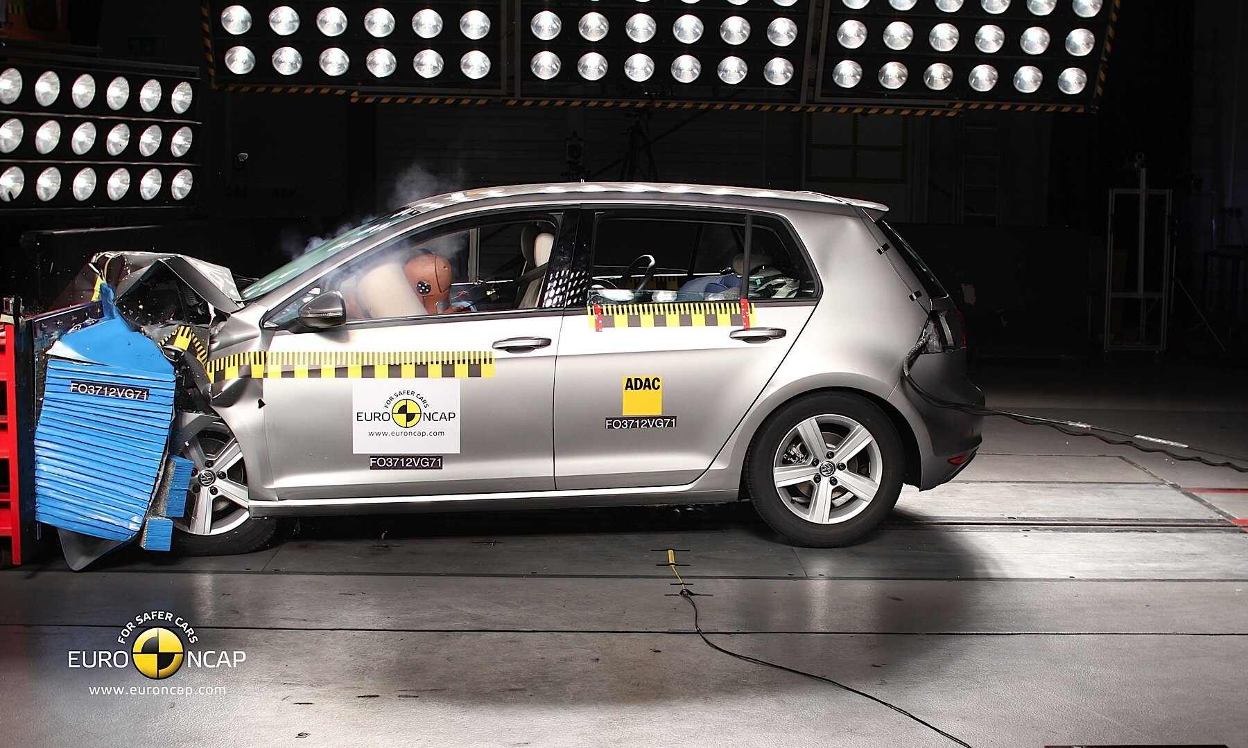 Volkswagen Golf GTE Plug-in Hybrid crash test result